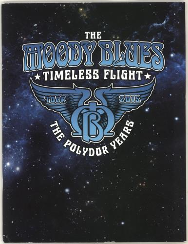 Moody Blues Timeless Flight - The Polydor Years tour programme UK MBLTRTI704316