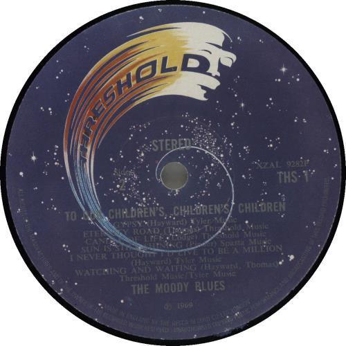 Moody Blues To Our Children's Children's Children + insert vinyl LP album (LP record) UK MBLLPTO586166