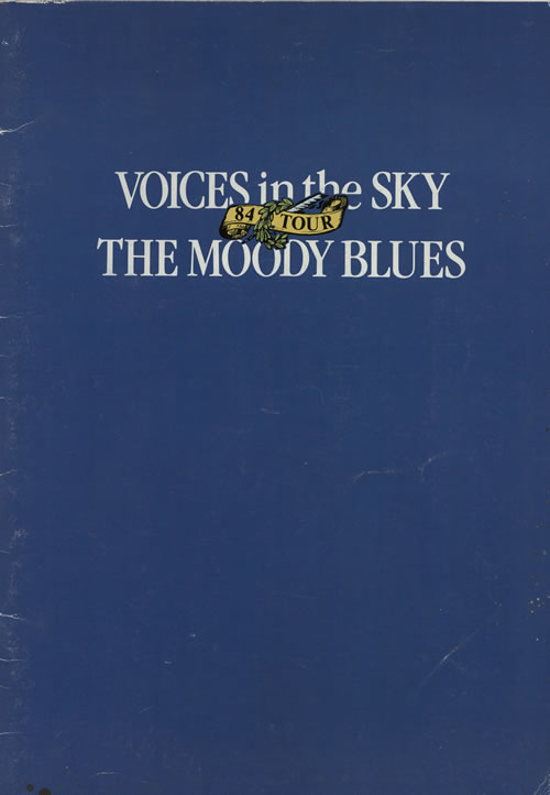 Moody Blues Voices In The Sky '84 Tour tour programme UK MBLTRVO569042