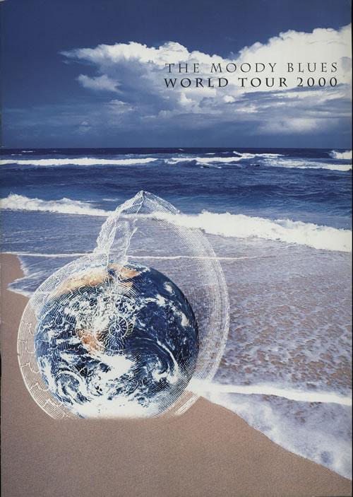 Moody Blues World Tour 2000 tour programme UK MBLTRWO595610