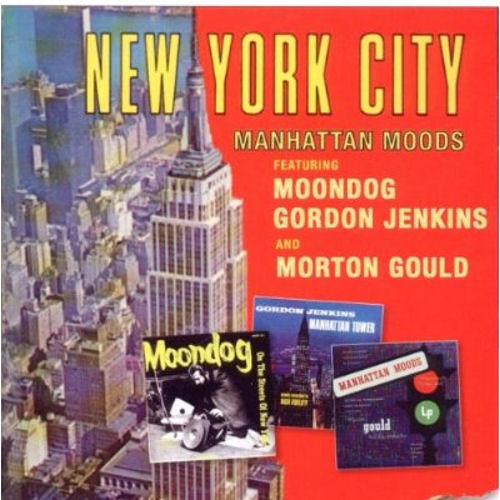 Moondog New York City - Manhattan Moods UK CD album (CDLP