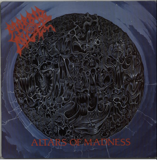 Morbid Angel Altars Of Madness - EX vinyl LP album (LP record) UK MRDLPAL579075