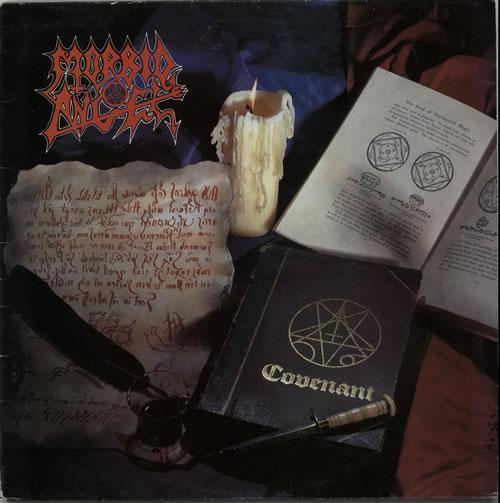 Morbid Angel Covenant vinyl LP album (LP record) UK MRDLPCO629615