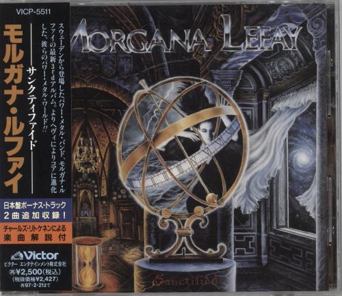 Morgana Lefay Sanctified CD album (CDLP) Japanese 0PXCDSA732163