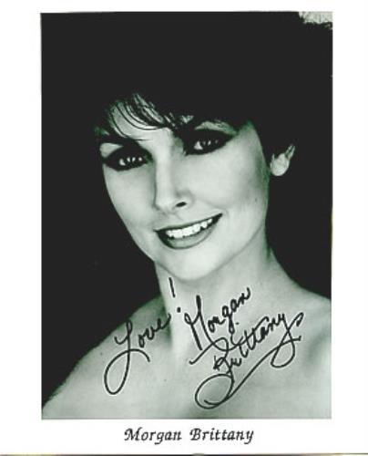 Morgan Brittany Autographed Publicity Photograph photograph UK MB1PHAU285289