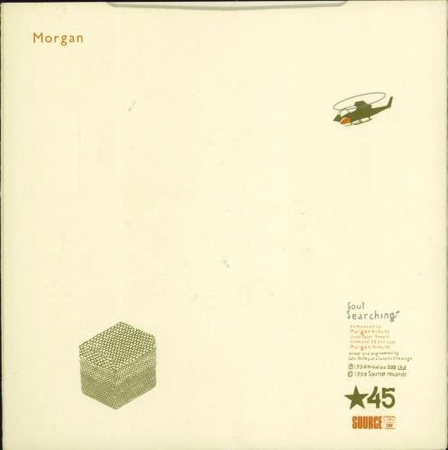 "Morgan Soul Searching 7"" vinyl single (7 inch record) UK MRG07SO770168"