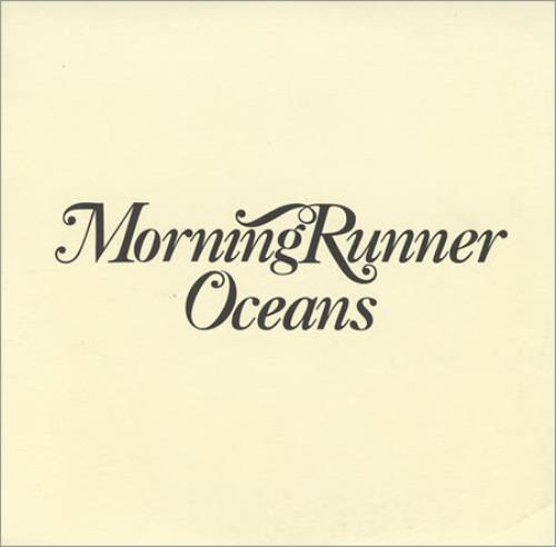 """Morning Runner Oceans CD single (CD5 / 5"""") UK MR-C5OC398021"""