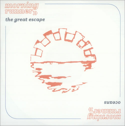 Morning Runner The Great Escape CD-R acetate UK MR-CRTH530669