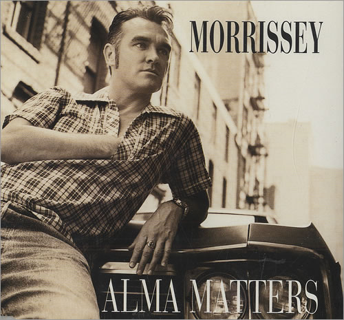 "Morrissey Alma Matters CD single (CD5 / 5"") German MORC5AL106840"