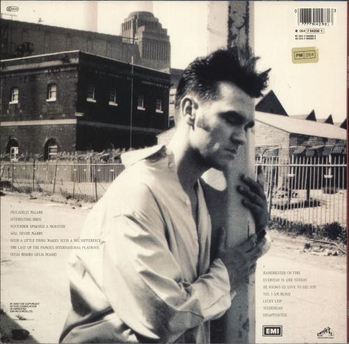 Morrissey Bona Drag vinyl LP album (LP record) European MORLPBO737481
