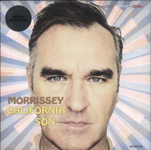 Morrissey California Son - Sky Blue Vinyl - Sealed vinyl LP album (LP record) UK MORLPCA721587