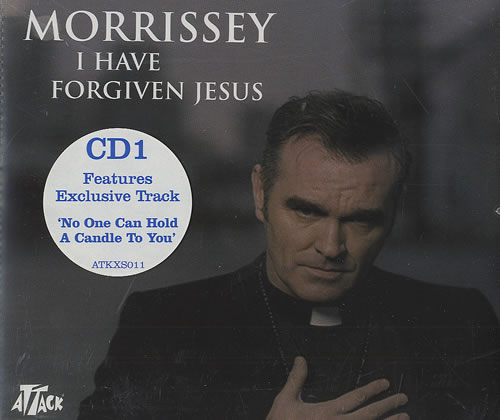 "Morrissey I Have Forgiven Jesus CD single (CD5 / 5"") UK MORC5IH492856"