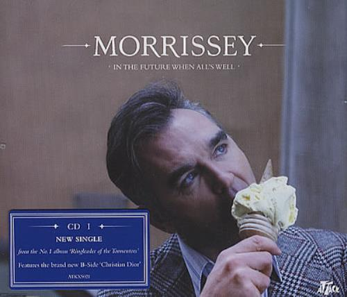 Morrissey In The Future When All's Well 2-CD single set (Double CD single) UK MOR2SIN369710