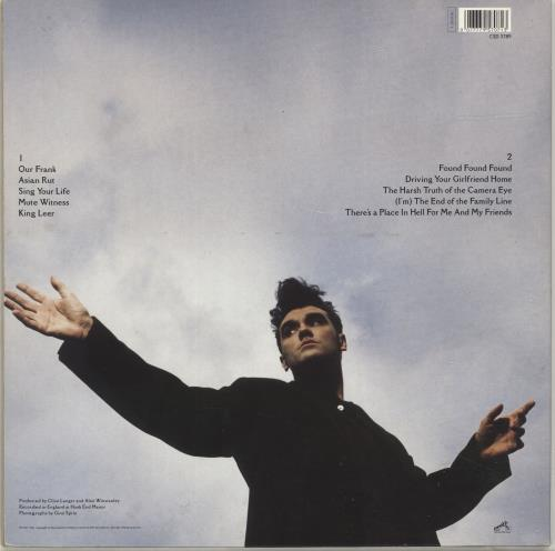Morrissey Kill Uncle - EX vinyl LP album (LP record) UK MORLPKI697523