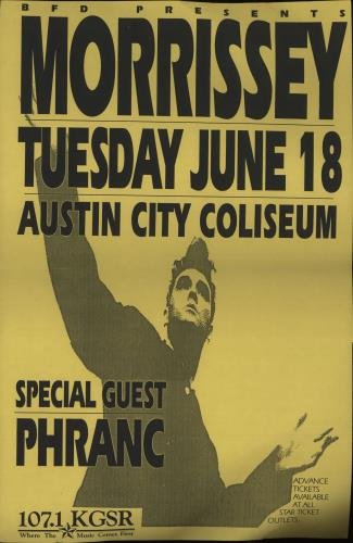 Morrissey Kill Uncle Cancelled Gig Poster poster US MORPOKI674228