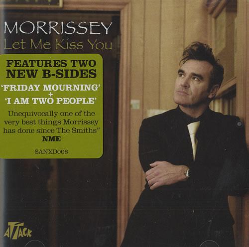Morrissey Let Me Kiss You 2-CD single set (Double CD single) UK MOR2SLE304843