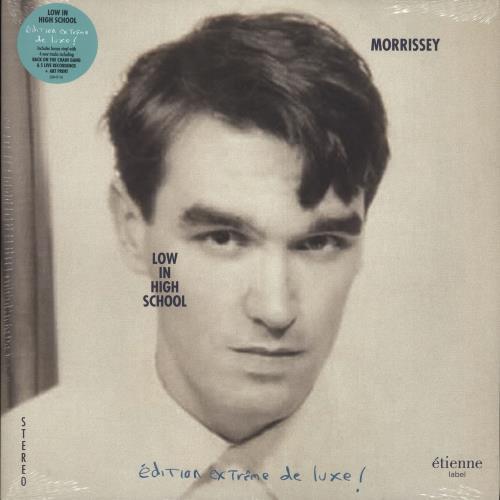 Morrissey Low In High School - Clear & Pink Vinyl - Sealed 2-LP vinyl record set (Double Album) UK MOR2LLO709728