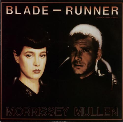 "Morrissey Mullen Blade-Runner 12"" vinyl single (12 inch record / Maxi-single) UK M\M12BL586698"