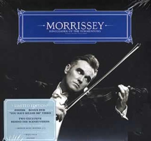 Morrissey Ringleader Of The Tormentors - Sealed 2-disc CD/DVD set UK MOR2DRI353395