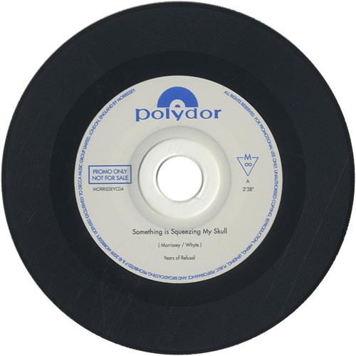 "Morrissey Something Is Squeezing My Skull CD single (CD5 / 5"") UK MORC5SO473020"