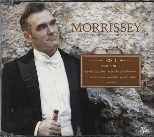 Morrissey The Youngest Was The Most Loved 2-CD single set (Double CD single) UK MOR2STH361147