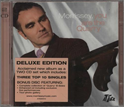 Morrissey You Are The Quarry 2 CD album set (Double CD) UK MOR2CYO305729