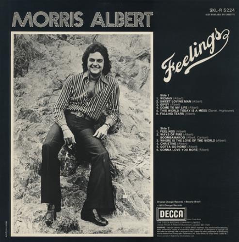 Morris Albert Feelings Uk Vinyl Lp Album Lp Record 235553