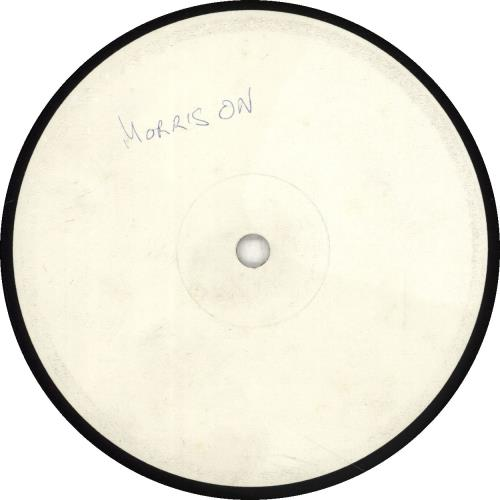 Morris On Morris On - 1-sided Test Pressing vinyl LP album (LP record) UK RROLPMO688962
