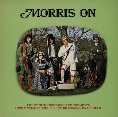 Morris On Morris On - Blue Label vinyl LP album (LP record) UK RROLPMO416696