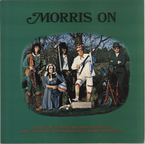 Morris On Morris On vinyl LP album (LP record) UK RROLPMO692605