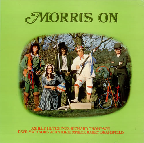 Morris On Morris On vinyl LP album (LP record) UK RROLPMO78182