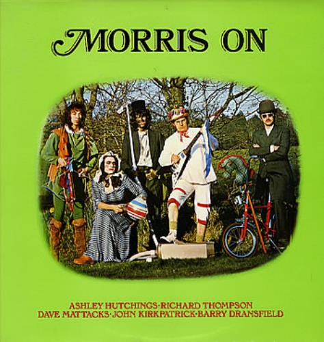 Morris On Morris On/Son Of Morris On 2-LP vinyl record set (Double Album) UK RRO2LMO300041