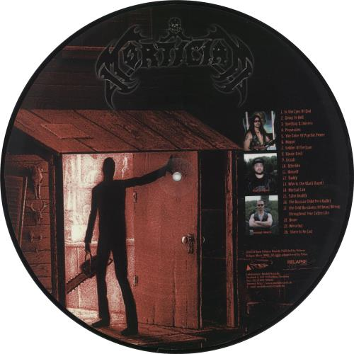 """Mortician Chainsaw Dismemberment 12"""" vinyl picture disc 12inch picture disc record German Q1Z2PCH705477"""