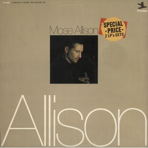 Mose Allison Mose Allison - Autographed 2-LP vinyl record set (Double Album) UK AM32LMO745597