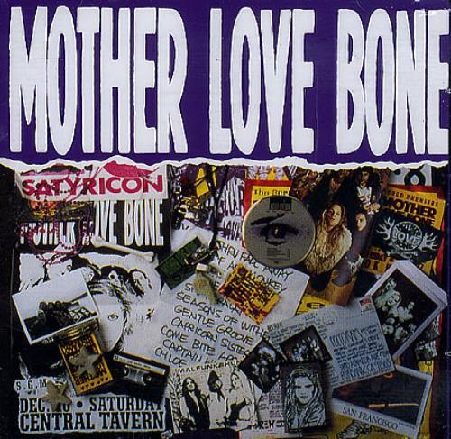 Mother Love Bone Mother Love Bone 2 CD album set (Double CD) UK MLB2CMO365510