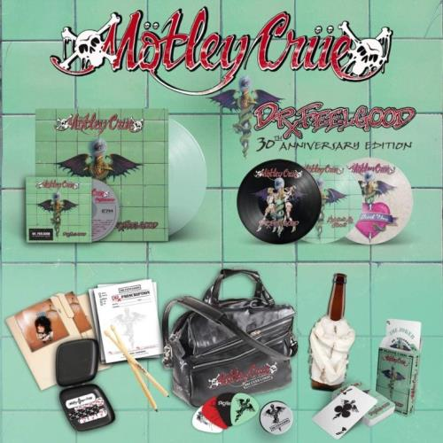 Motley Crue Dr. Feelgood - 30th Anniversary Super Deluxe Edition box set UK CRUBXDR744324