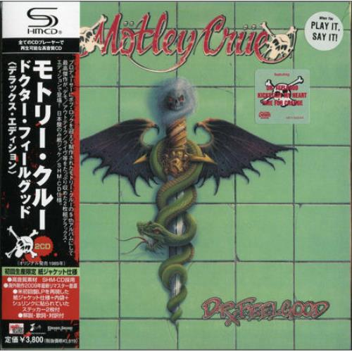Motley Crue Dr Feelgood Japanese Shm Cd 479116