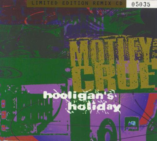 "Motley Crue Hooligan's Holiday - Digipak CD single (CD5 / 5"") UK CRUC5HO26751"
