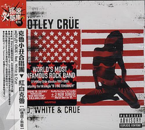 daf2bc4ac7268 Motley Crue Red White & Crue Taiwanese 2 CD album set (Double CD ...