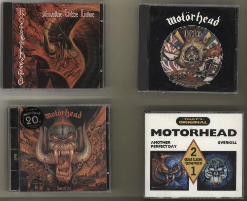Motorhead Album Bundle UK CD album (CDLP)