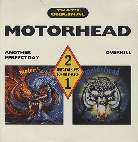 Motorhead Another Perfect Day / Overkill 2-LP vinyl record set (Double Album) UK MOT2LAN326161