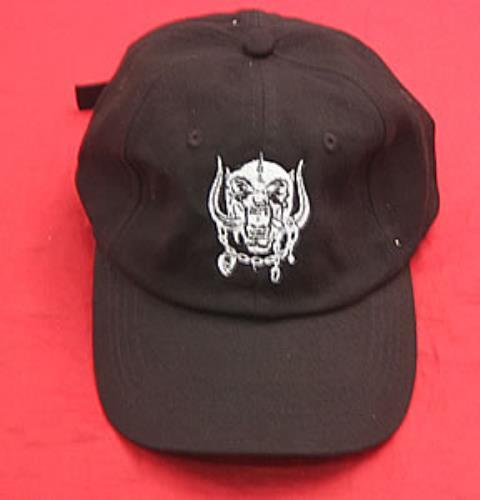 ac565f9af8f Motorhead Australian Tour Baseball Cap hat Australian MOTHAAU356287