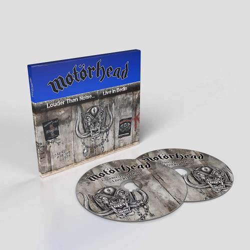 Motorhead Louder Than Noise… Live in Berlin 2-disc CD/DVD set UK MOT2DLO767968