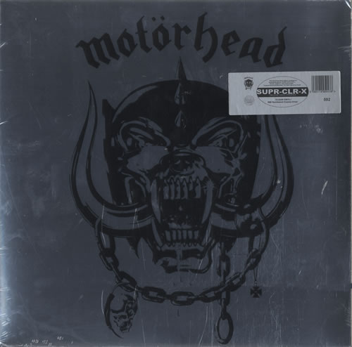 Motorhead Motorhead - Clear vinyl + Sealed vinyl LP album (LP record) UK MOTLPMO469316