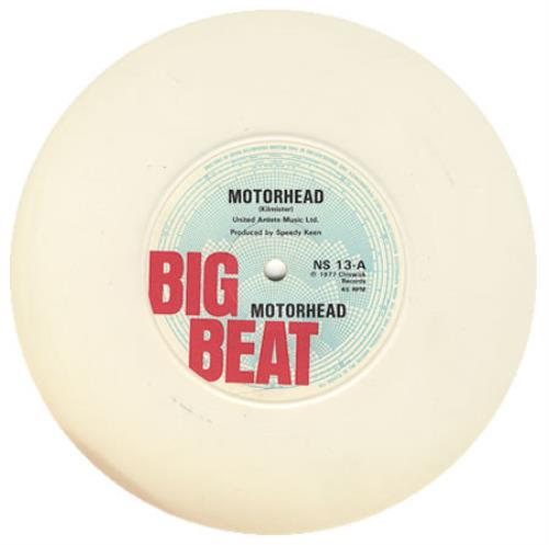 "Motorhead Motorhead - White Vinyl 7"" vinyl single (7 inch record) UK MOT07MO116928"