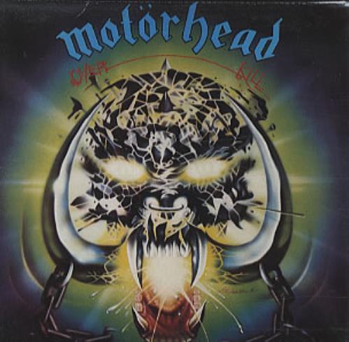 Motorhead Overkill CD album (CDLP) UK MOTCDOV320166