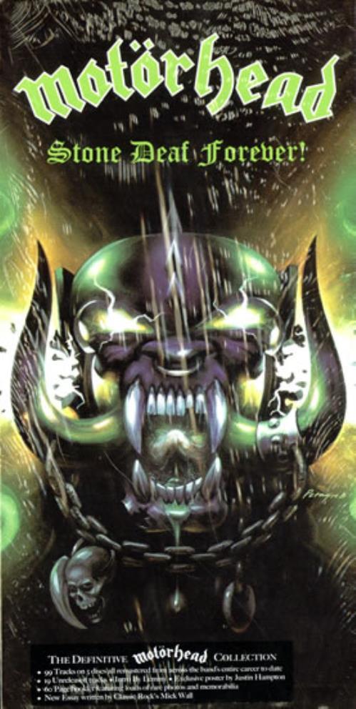 Motorhead Stone Deaf Forever Uk Cd Album Box Set 468013