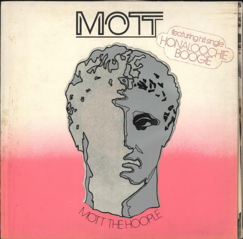 Mott The Hoople Mott - 1st - Stickered - VG vinyl LP album (LP record) UK MHOLPMO718432