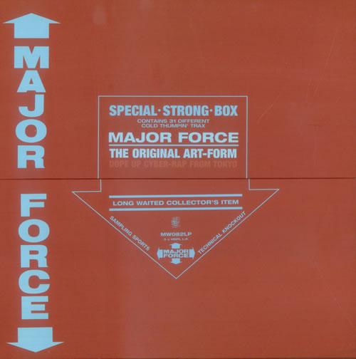 Mo Wax Major Force: The Original Art-Form Vinyl Box Set UK O45VXMA530958