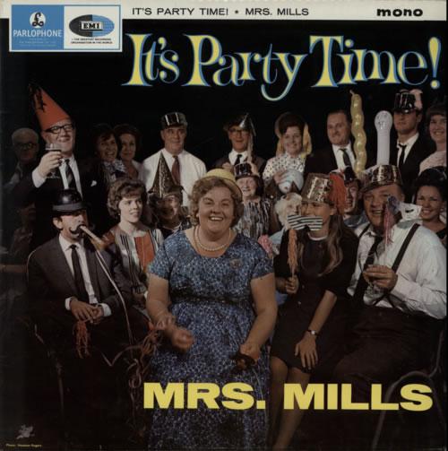 Mrs. Mills It's Party Time! vinyl LP album (LP record) UK MMQLPIT616573